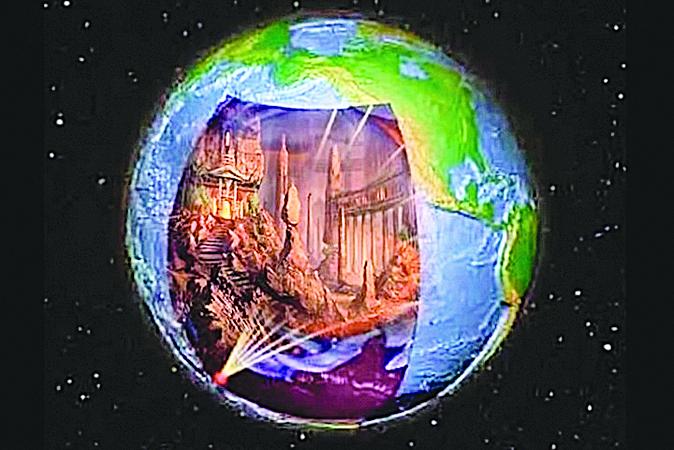 NASA收到神秘電波 地底文明之謎浮現