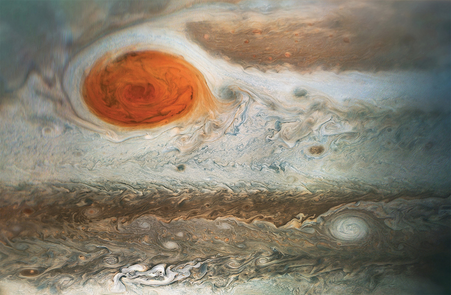 哈勃望遠鏡發現 木星大紅斑轉速加快