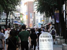 中國人韓國街頭偷拍上傳抖音 韓國人:很反感