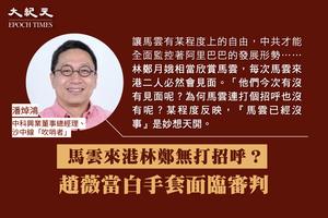 潘焯鴻:馬雲來港林鄭無打招呼? 趙薇當白手套面臨審判