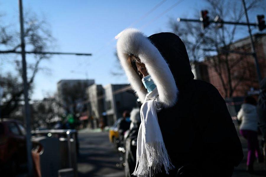 寒潮提早來襲 中國大範圍氣溫驟降