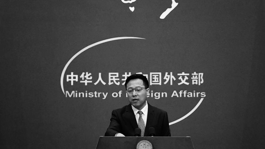 疑不搞一國兩制了  趙立堅稱台灣是「中國一個省」