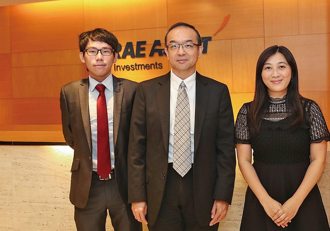 未來資產環球投資(香港)宣佈,4隻槓桿和反向ETF產品在港交所上巿。(余鋼/大紀元)