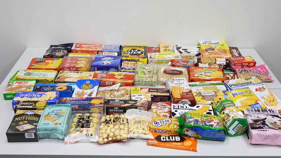 60款餅乾樣本驗出污染物