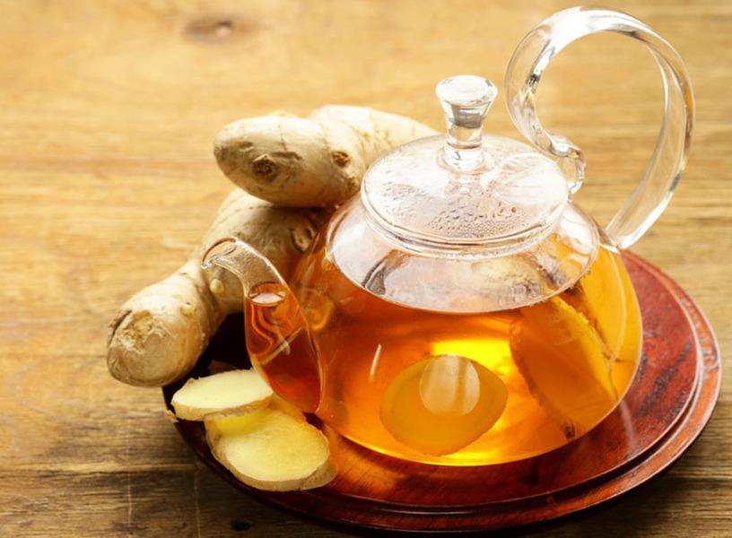 一杯神奇生薑茶