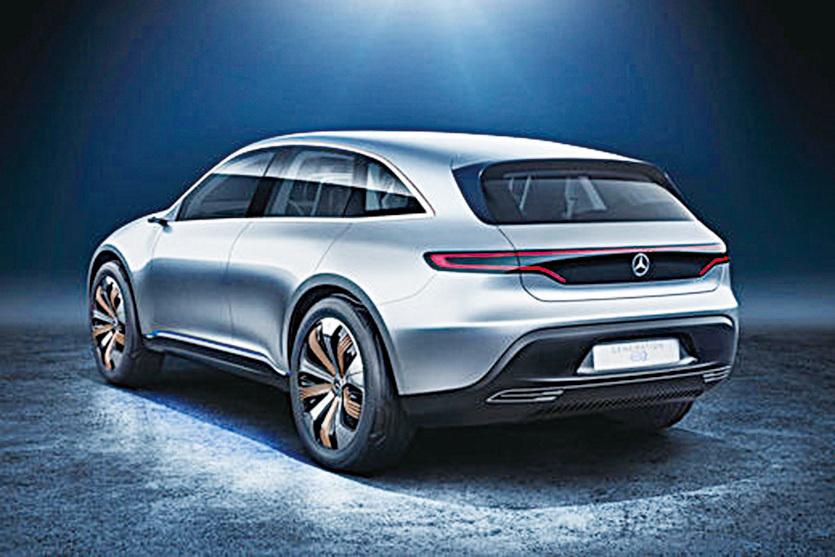 巴黎車展 平治發佈純電動SUV概念車Generation EQ
