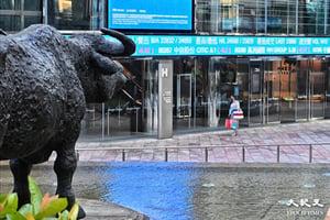 恒指升348點 馬雲遊歐阿里升近7% 中教配股跌逾6%