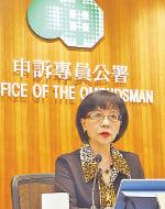 申訴專員劉燕卿批評,食環署未有妥善處理市民對有問題食物的投訴,亦沒有克盡守護公眾食物安全的責任,表現令人失望。(蔡雯文/大紀元)