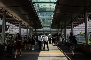 香港9月失業率降至4.5% 中位數家庭月入2.7萬元