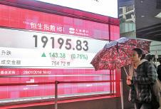 恒指升143點 恒地大漲6.74%