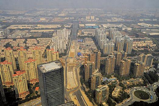 蘇州是中國的二線城市,近期房地產市場引人關注。(大紀元資料室)