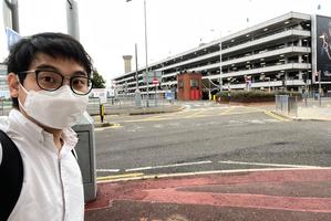 DQ區議員李文浩宣布已離港:多了人跟蹤 再不走可能太遲