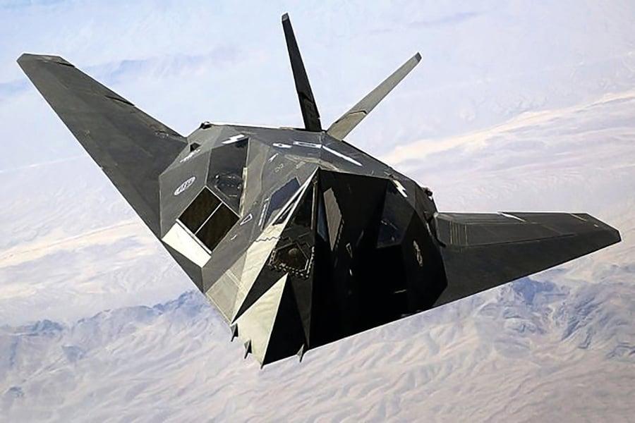 世界首款隱形戰機F-117為何復飛