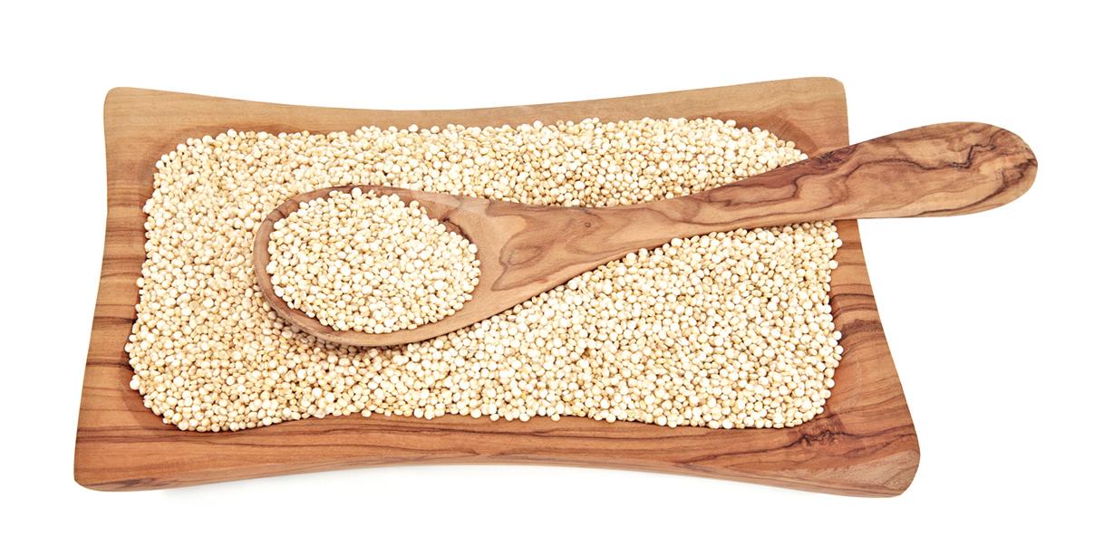 幫孩子準備餐點時,可多運用健康的藜麥。