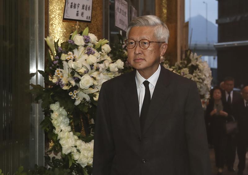 終審法院前首席法官李國能(攝影:余鋼/大紀元)