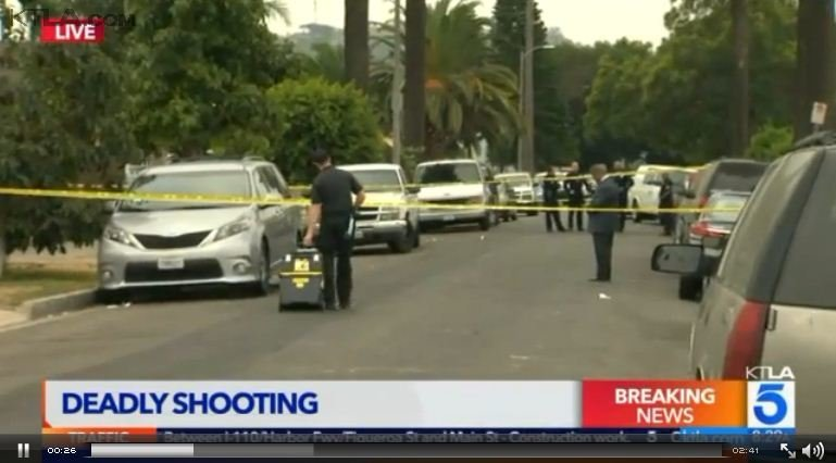 洛杉磯餐廳爆槍案 滿地鮮血三死十二傷