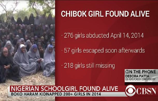 遭擄兩年半尼國21女學生獲釋