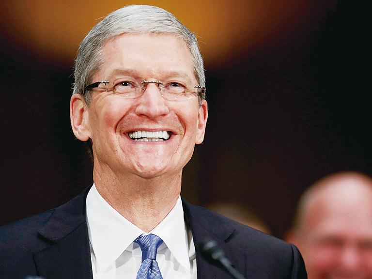 蘋果CEO蒂姆‧庫克。(Getty Images)