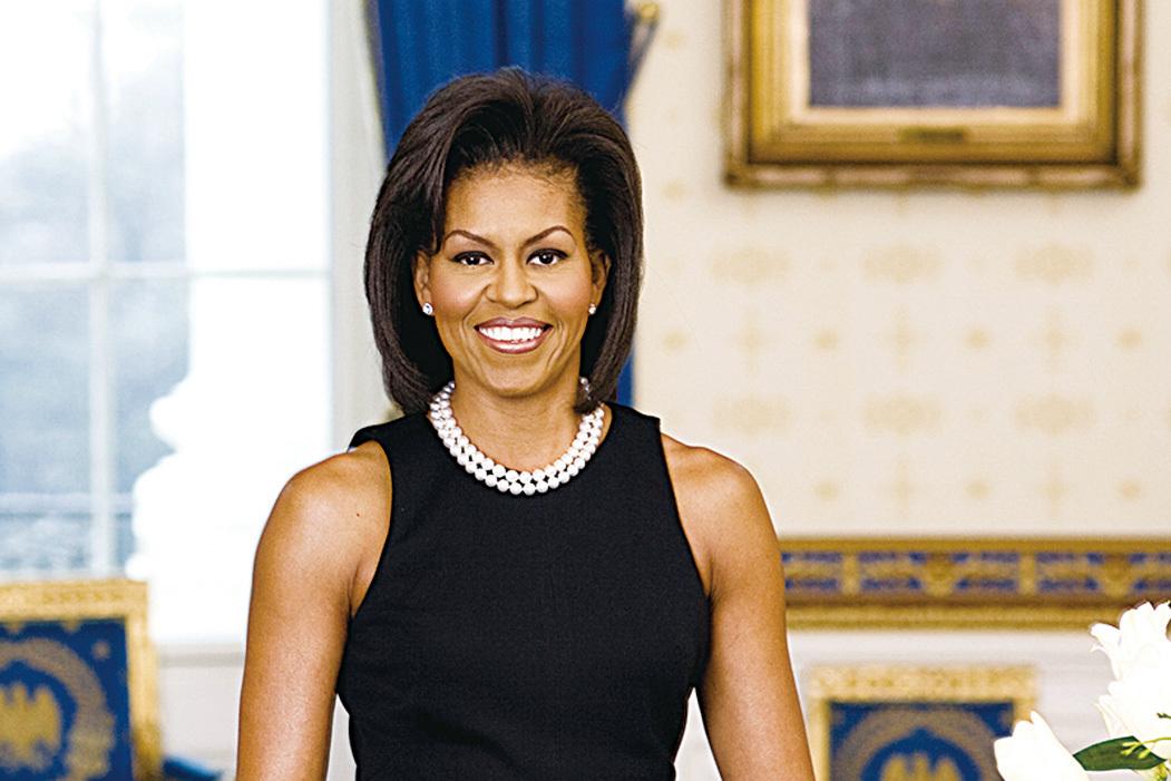 美國第一夫人米歇爾‧奧巴馬。(維基百科)