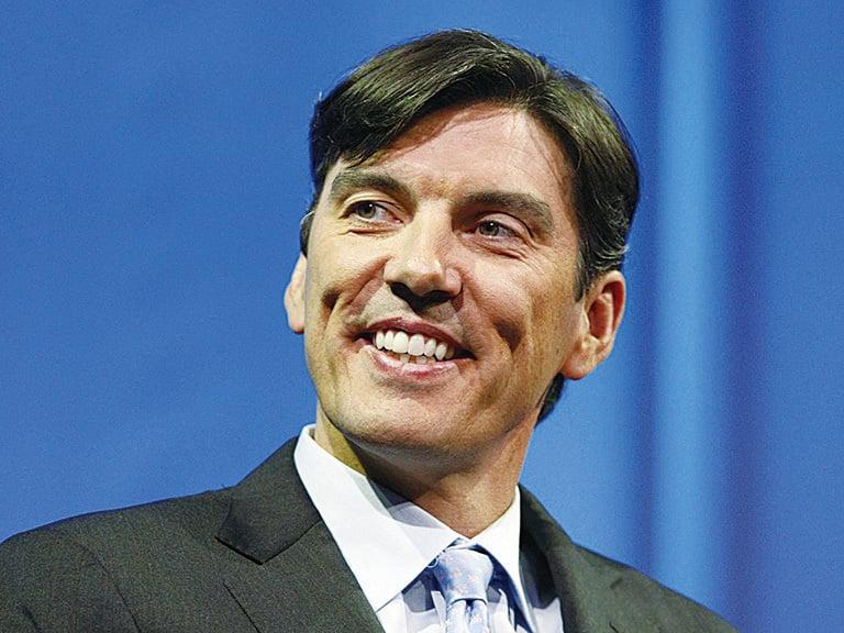 AOL首席執行官蒂姆‧阿姆斯特朗(Tim Armstrong)。(Getty Images)