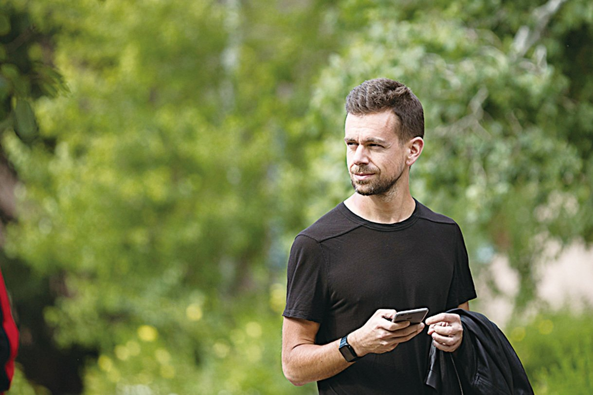 Twitter和Square的聯合創始人兼CEO傑克‧多西(Jack Dorsey)。(Getty Images)