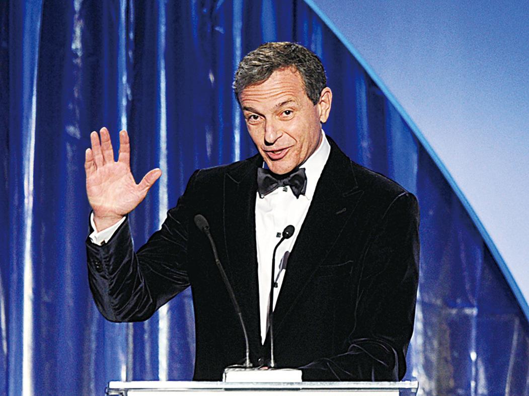 華特迪士尼傳媒總裁兼CEO鮑勃‧伊格爾(Bob Iger)。(Getty Images)