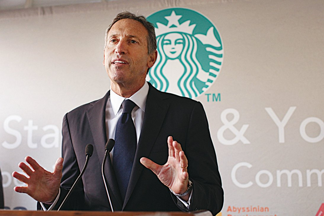 星巴克CEO霍華德‧舒爾茨(Howard Schultz)。(Getty Images)