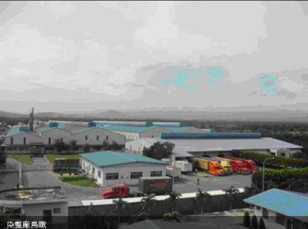 年興紡織尼加拉瓜廠全景鳥瞰圖。(年興紡織官網)