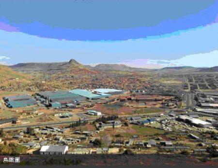 年興紡織南非萊索托廠全景鳥瞰圖。(年興紡織官網)