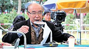 前立法局主席黃宏發稱主席無權剪布