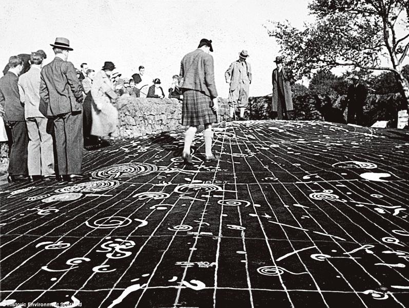 蘇格蘭史前遺蹟 預言日蝕的螺旋岩石