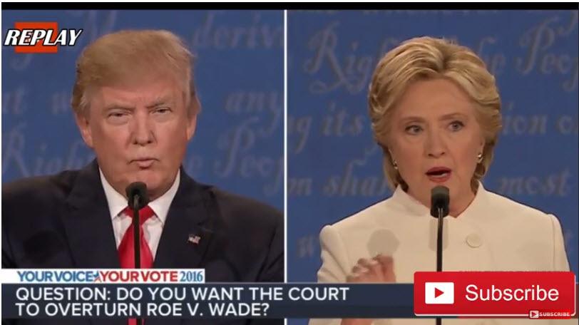 美國大選第三場總統辯論已然落幕,但特朗普和希拉莉誰會成為白宮主人,仍需等待20天。(視像擷圖)
