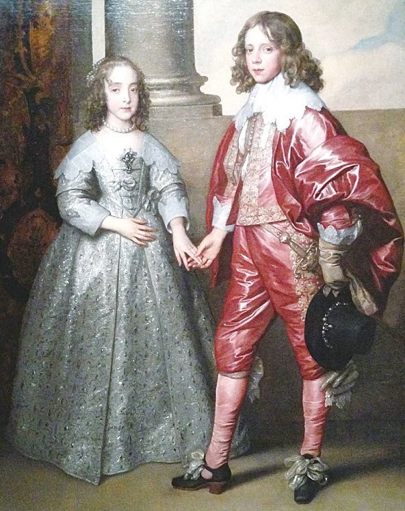 《奧蘭治的威廉王子與瑪麗公主》(Prince William of Orange and Mary, Princess Royal),1641年作,布面油畫,阿姆斯特丹國家博物館藏。(Kati Vereshaka/Epoch Times)