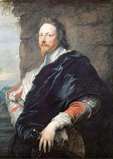 《尼古拉斯‧拉尼爾像》(Nicholas Lanier),約1628年作,布面油畫,維也納藝術史博物館藏。(Kati Vereshaka/Epoch Times)