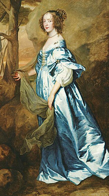 《安妮‧凱莉女士,後來的克蘭德博女子爵和克蘭布拉西爾伯爵夫人像》(Lady Anne Carey, Later Viscountess Claneboye and Countess of Clanbrassil),約1636年作,紐約弗里克收藏館藏。(Courtesy of The Frick Collection)
