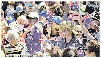 澳洲的總人口約有3,000萬 (林文責/大紀元)