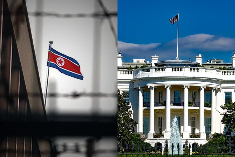 美國國務院拒絕發放簽證給計劃訪美的北韓特使崔善熙,雙邊的會談已經取消。(Stephen Shaver/Polaris、Pixabay)