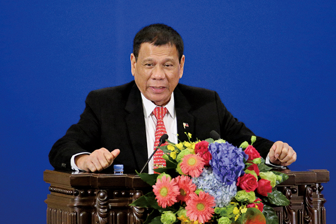菲總統返國連夜澄清 不與美斷絕關係