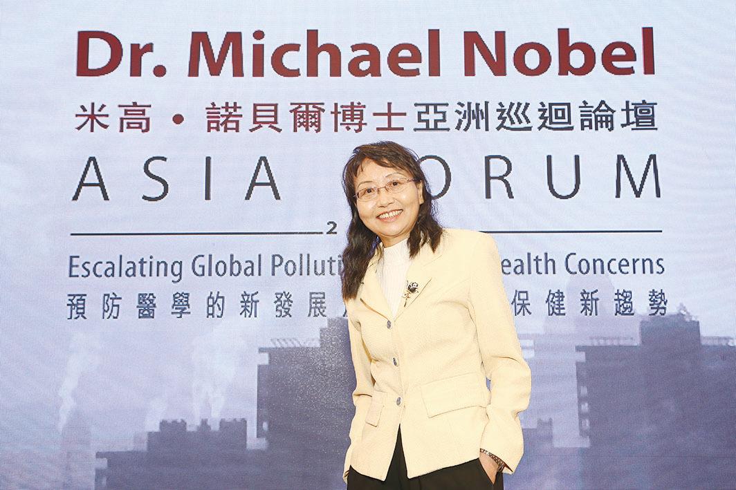 生態毒理學專家劉美明博士(香港醫護學會提供)