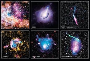 NASA天文圖 展現壯觀天體