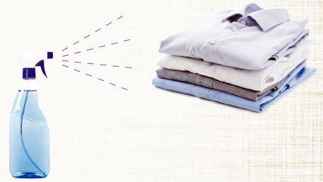 兩種自製噴霧劑 為衣物輕鬆除皺