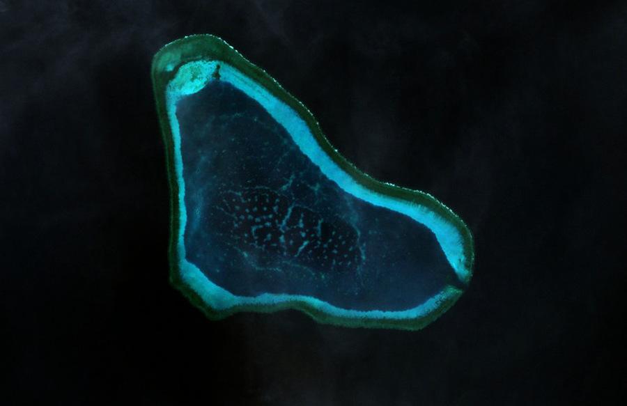 美軍艦黃岩島海域巡航 中美博弈趨強?