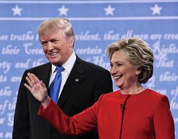 全美民調:希拉莉領先12%