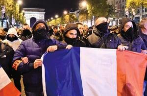 法國警察街頭抗議  要求改革刑法