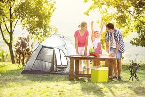 享受露營趣味 美食不能少