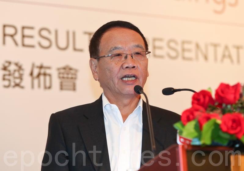 百麗國際首席執行官盛百椒表示,現時零售市場市況嚴峻,短期亦難以扭轉,相信最差情況還未到來。(余鋼/大紀元)