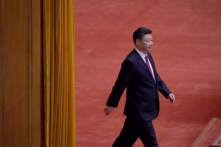 1月31日,中共黨校主辦的《學習中國》發文,總結習近平講話向政法官員提「五個過硬要求」。(Ramil Sitdikov/Host Photo Agency/Ria Novosti via Getty Images)