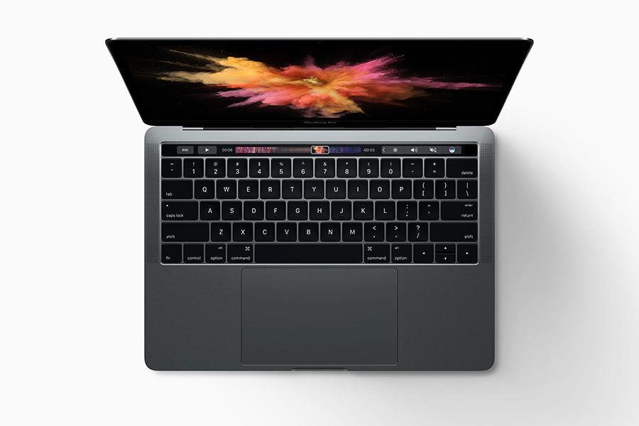 蘋果新款MacBook Pro 多功能觸控條實現全熒幕工作