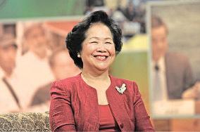 【圖片新聞】陳太欣賞胡官參選 市民肯定財爺