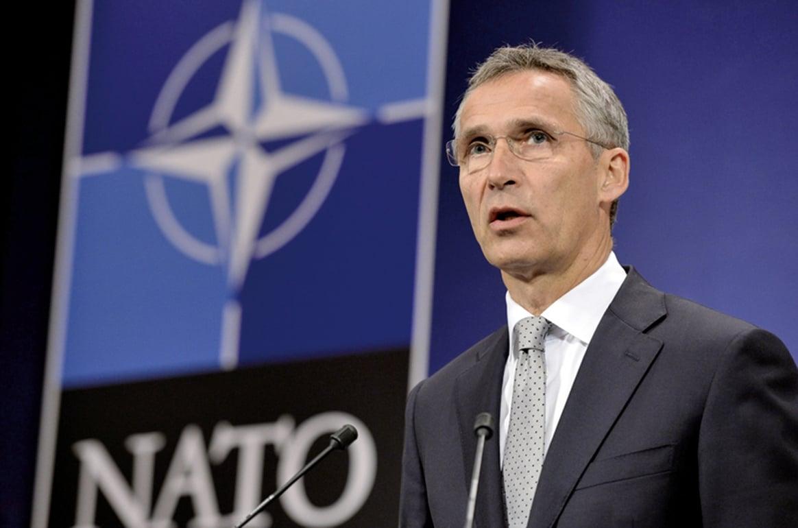 北約10月26日宣佈在東歐國家增加軍事部署,制衡俄羅斯軍事力量。(AFP)